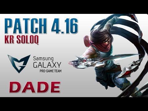 SG Blue Dade vs C9 Hai - Talon vs Zed - KR SoloQ