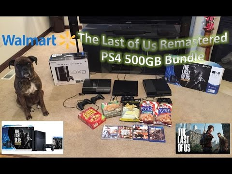 Walmart The Last of Us Remastered PS4 500GB Bundle Review