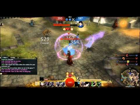 GW2: Stealth Thief PvP Gameplay - Runic [Axe]
