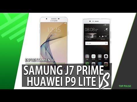 Samsung J7 Prime VS Huawei P9 Lite   Enfrentamiento   Review   Unboxing