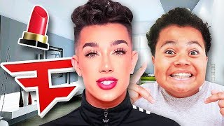 Kaylen Meets James Charles For The First Time...