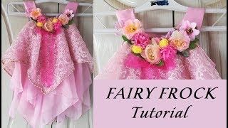 stylish baby frock cutting in Hindi (step by step)