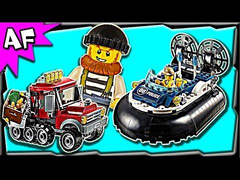 Lego City Swamp Police HOVERCRAFT ARREST 60071 Stop Motion Build Review