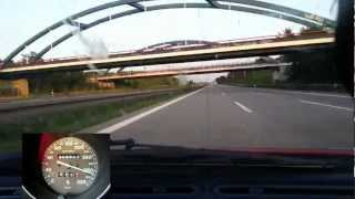 Ferrari F355 GTS F1 Highspeed Trip sound and accelerating to 300 km/h 28.06.12 Part1 HD pure sound
