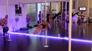 Amazing Poledance with Anastasia Sokolova!