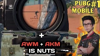 17 KILL AKM + AWM PAKET COMBO CHICKEN DINNER - PUBG MOBILE INDONESIA