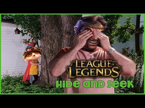 League of Legends - Hide and Seek - Zabawa w chowanego - 1, 2, 3 Irelia Patrzy