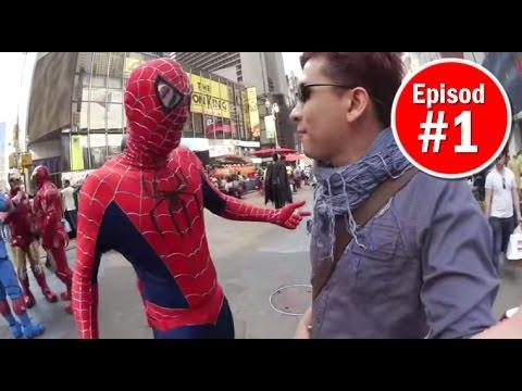 Spiderman Ajak Saya Mabuk di New York! - Kembara Selfie #1