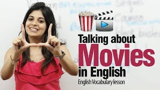 Talking about movies in English - Free Spoken English Lesson (ESL)