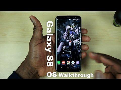 Samsung Galaxy S8 In-depth OS Walkthrough