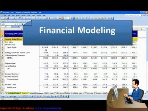 financial modeling This course will provide students with an understanding of how to build financial  models using excel.