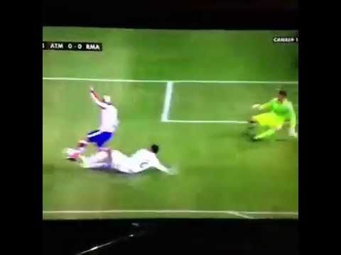 What a tackle by Raphael Varane