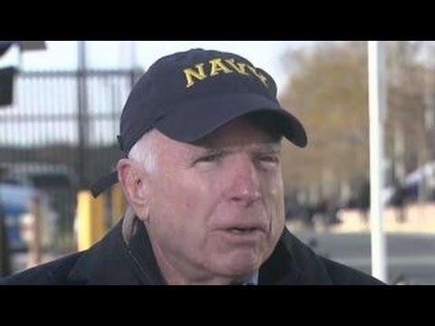 Sen. John McCain wants 'balanced rivalry' at Army-Navy game