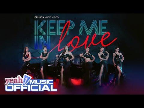 KEEP ME IN LOVE | Ho Ngoc Ha & team The Face | Official MV