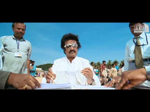 Rajini Style in Sivaji The Boss - Signing with both hands