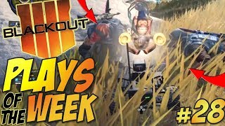 200 IQ Monkey Bomb RC for the WIN - Call of Duty BLACKOUT Plays Of The Week #28