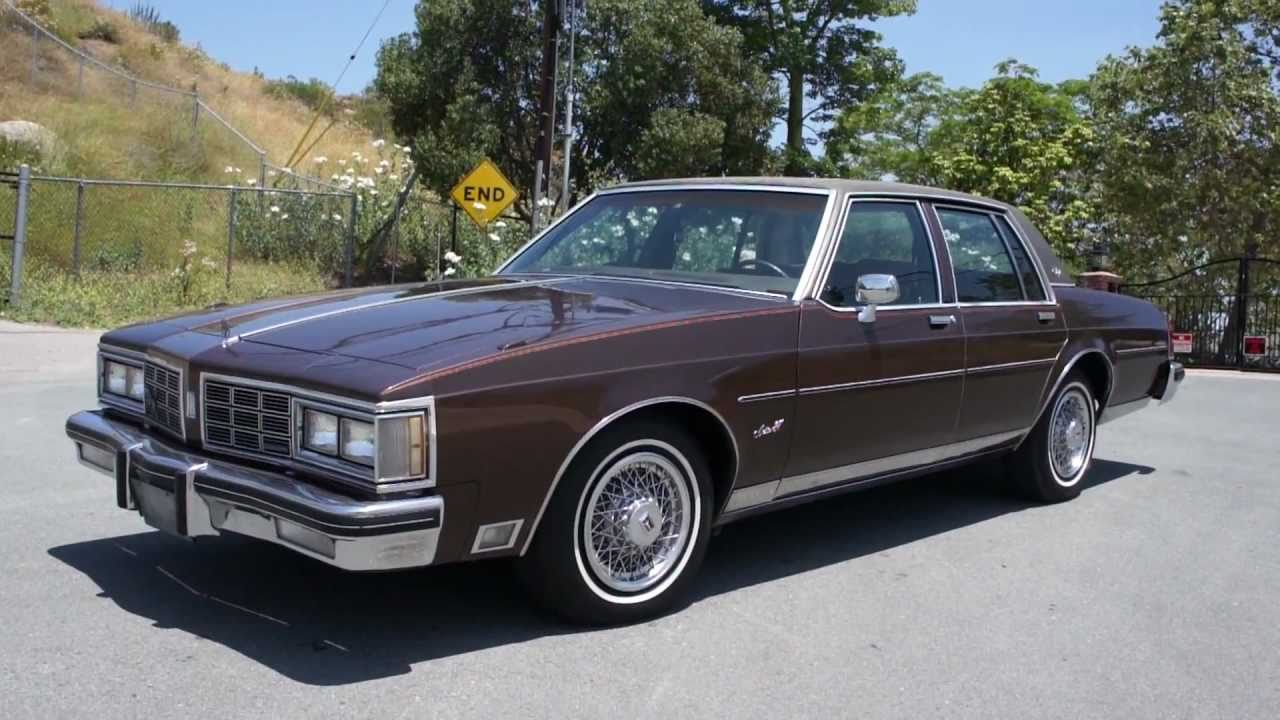 2 Owner 1983 Oldsmobile Delta 88 Royal Brougham Youtube