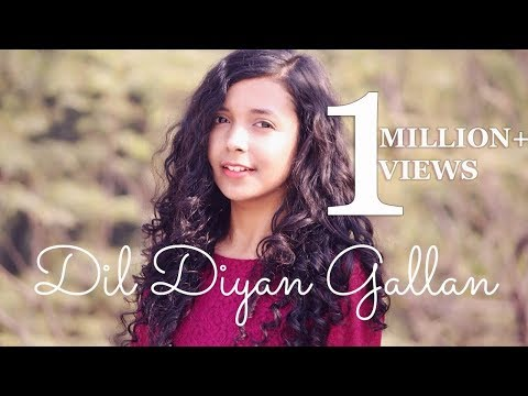 Dil Diyan Gallan ( Cover ) | Tiger Zinda Hai | Female Version By Shreya Karmakar ft. Aasim Ali