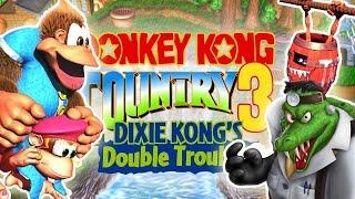 DONKEY KONG COUNTRY 3 SEM MORRER! TREINAMENTO!