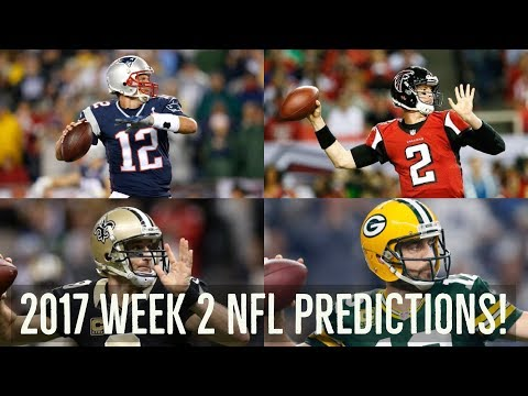 2017 NFL Week 2 Picks and Predictions! Game By Game Analysis!