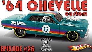 Episode 26-Hot Wheels 1964 Chevelle Custom Build
