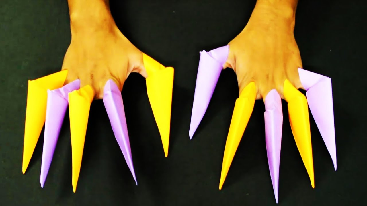How to Make Origami Paper Claws How to Make Origami Paper Claws new images