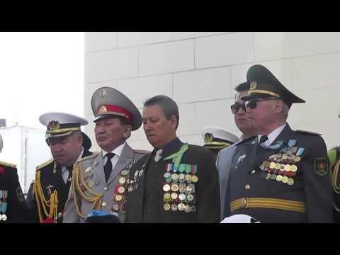 Жители Актау отмечают День Победы