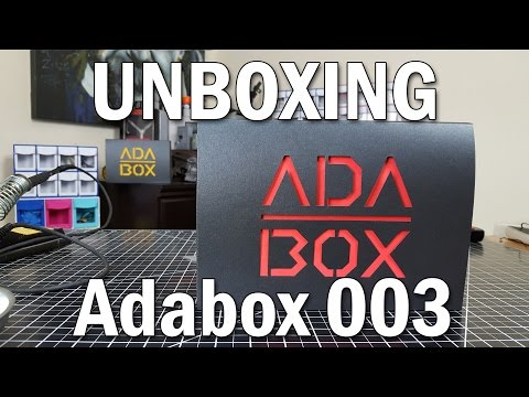 Adabox 003 Unboxing - What's Inside?!  Detailed Review