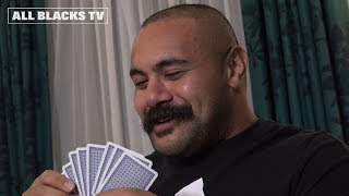Moustache chat with the All Blacks