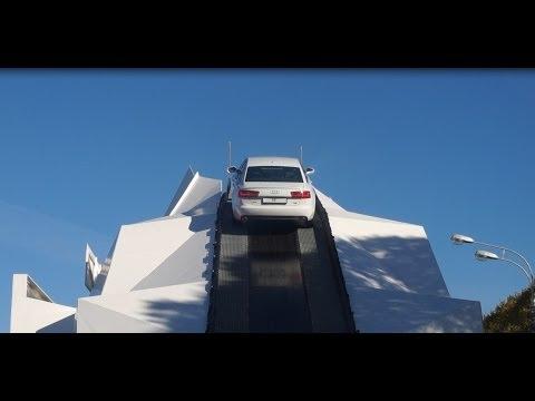Audi A6 экстремальный подъём. Anton Avtoman
