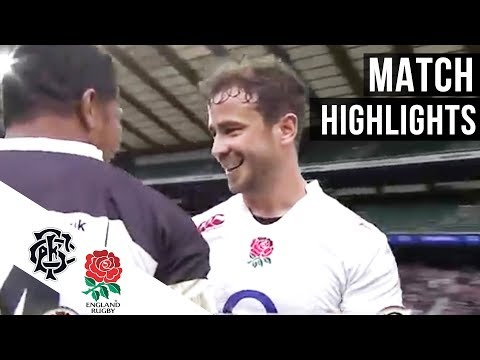 England 73-12 Barbarians   Full match Highlights & tries