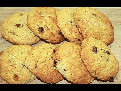 Как приготовить овсяные печенья в домашних