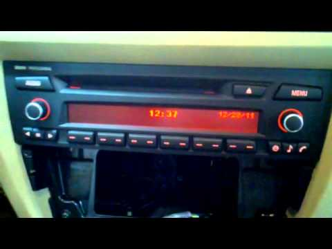 BMW 3 Series Radio Removal