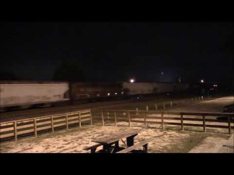 Railfanning Folkston, GA - Early Morning Action - Saturday October 5, 2013 Part 2