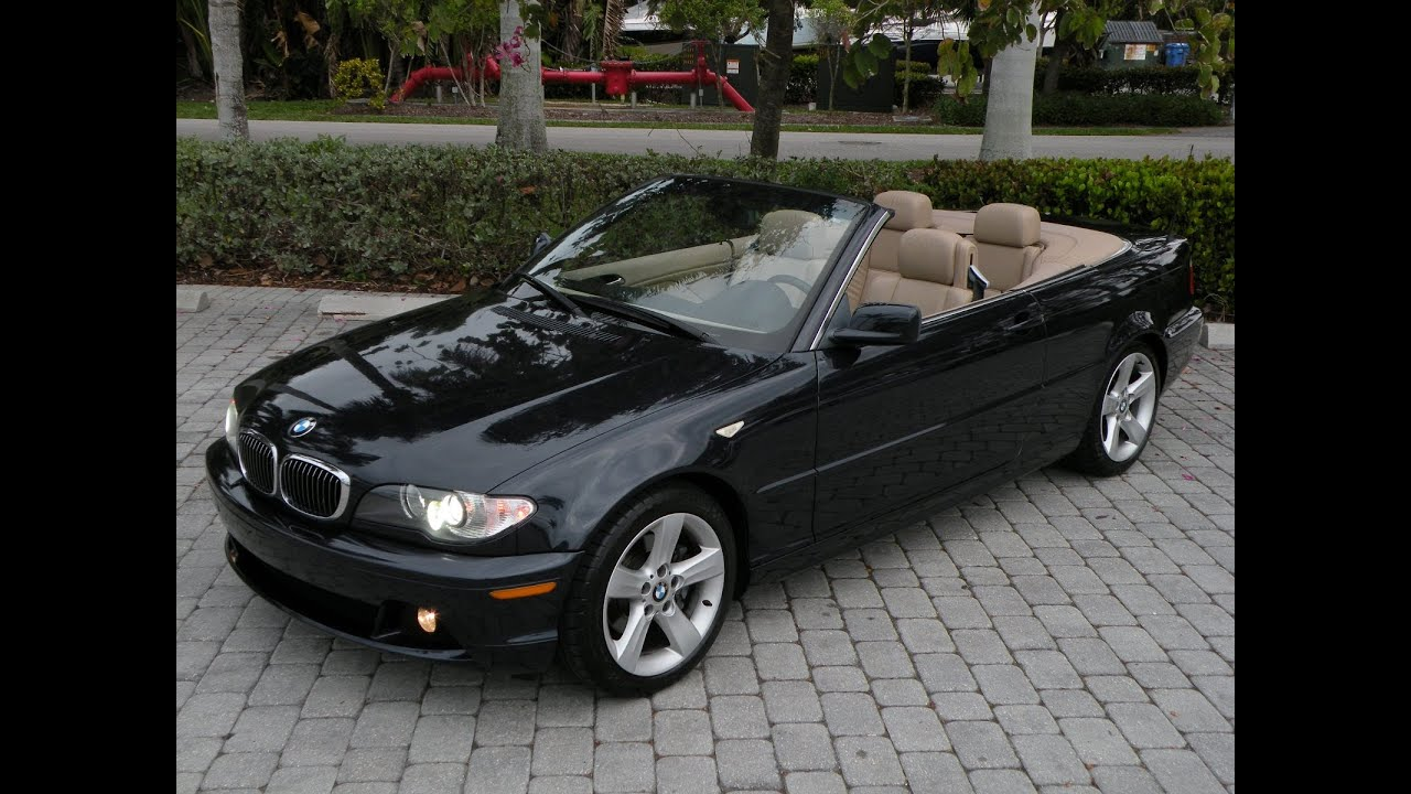 05 bmw 325ci convertible for sale auto haus of fort myers florida 33908 youtube