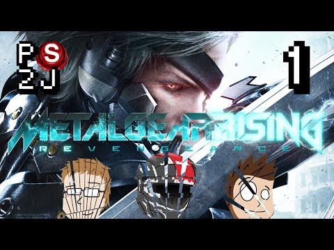 Metal Gear Rising: Revengance EP 1 - Julienne Cyborgs