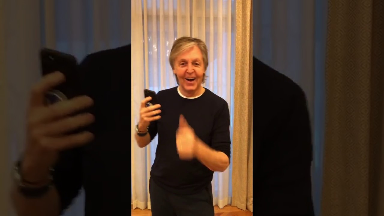 "Paul McCartney - 自身による""Come On To Me""「#COTMChallenge」ダンス映像を公開 thm  