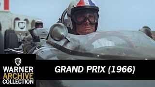 Grand Prix (1966) – Crash Into The Mediterranean
