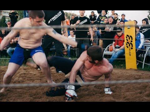 Простой мужик вышел на бой из толпы