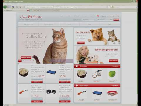 0 Your Pet Store osCommerce template