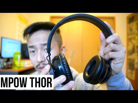 MPOW Thor Bluetooth Headphones Review (FOLDABLE WIRELESS)