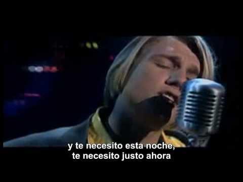 I need you tonight (Subtitulado)