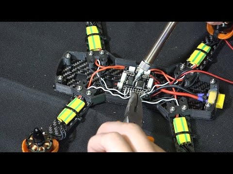 Сборка квадрокоптера 250 размера ... Часть 1
