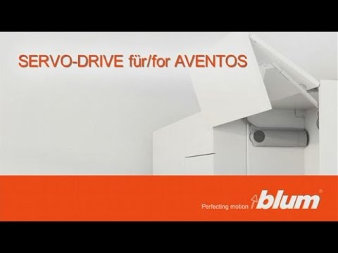 blum aventos servo drive mont n n vod youtube. Black Bedroom Furniture Sets. Home Design Ideas