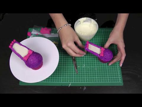 ¡Haz Cupcakes de Zapatos de Tacón! Decora Cupcakes - Cupcake Addiction