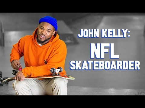 The NFL Running Back Who Skateboards
