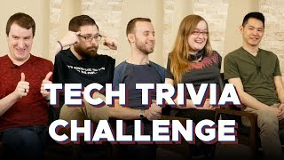 TECH TRIVIA CHALLENGE | S2E01 | TECH GEEKS TRY STUFF (sponsored by RØDE Microphones)