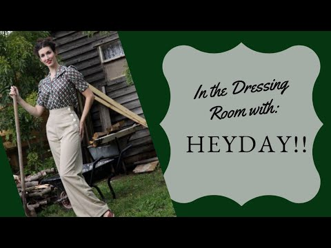 In The Dressing Room: Heyday! Vintage Fashion Review video