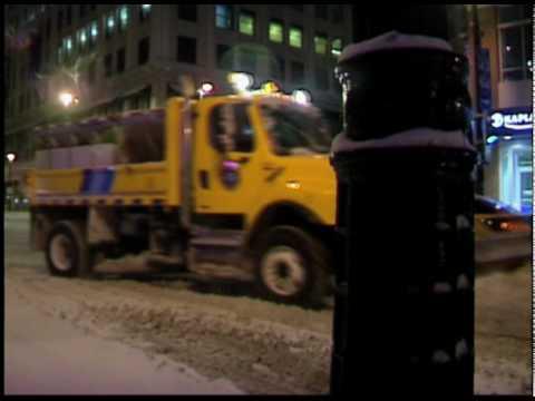 Milwaukee, WI snow storm 1/7/2010