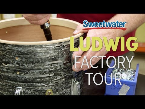 Ludwig Factory Tour with Sweetwater